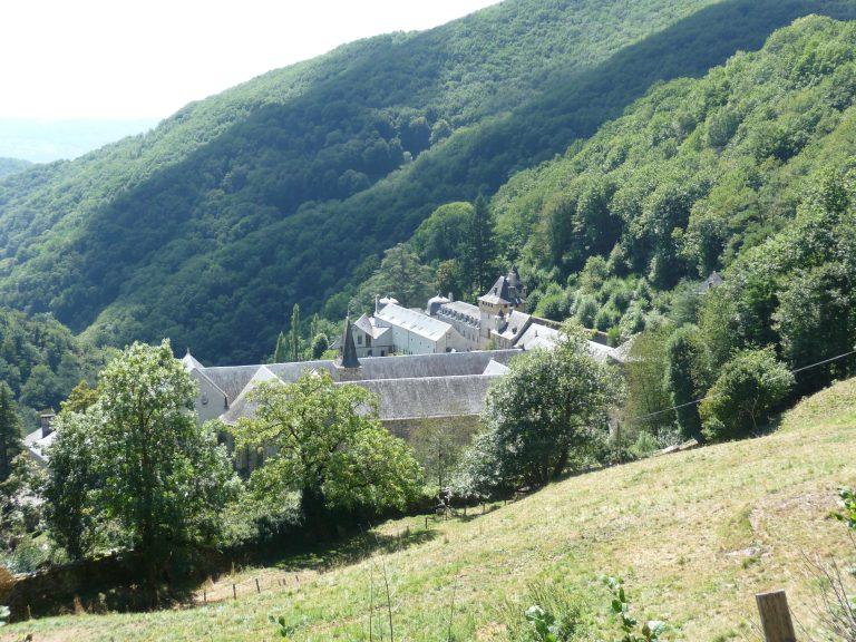 Vue panoramique de l'Abbaye de Bonneval